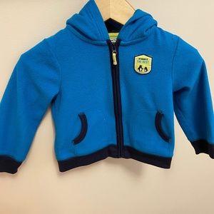 Carter's fleece hoody. Size:18 months. Gently used